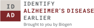 Identify Alzheimer's Disease earlier, brought to you by Biogen